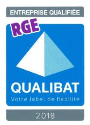 Qualibat RGE 2018